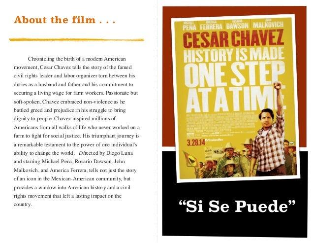 Cesar Chavez Movie Guide – Cesar Chavez Worksheet