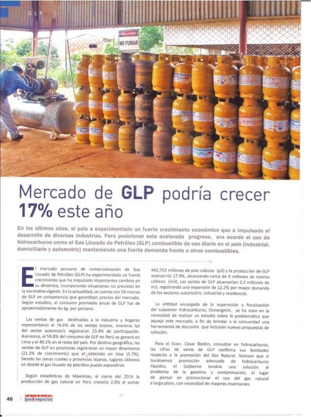 Cesar bedón   mercado de glp podría crecer 17% este año - petró