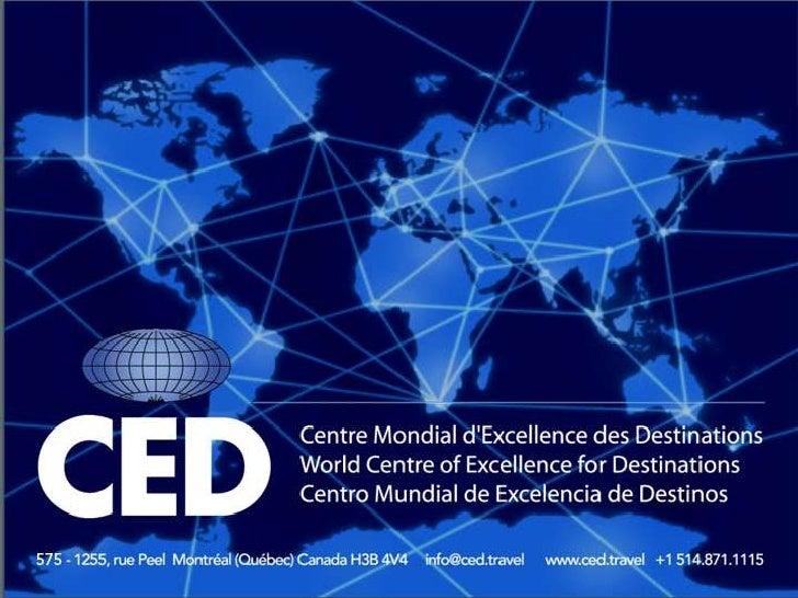 Misión    <br />Guiar a los destinos turísticos alrededor del mundo hacia la excelencia <br />
