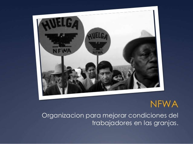 NFWA Organizacion para mejorar condiciones del trabajadores en las granjas.