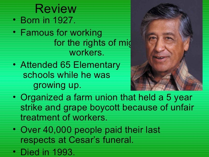 cesar chavez biography essay Remembering cesar chavez and his legacy by carlos muñoz, jr i had the privilege of knowing cesar chavez and speaking truth to power on the same platform with him.