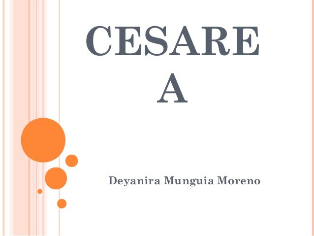 CESARE A Deyanira Munguia Moreno