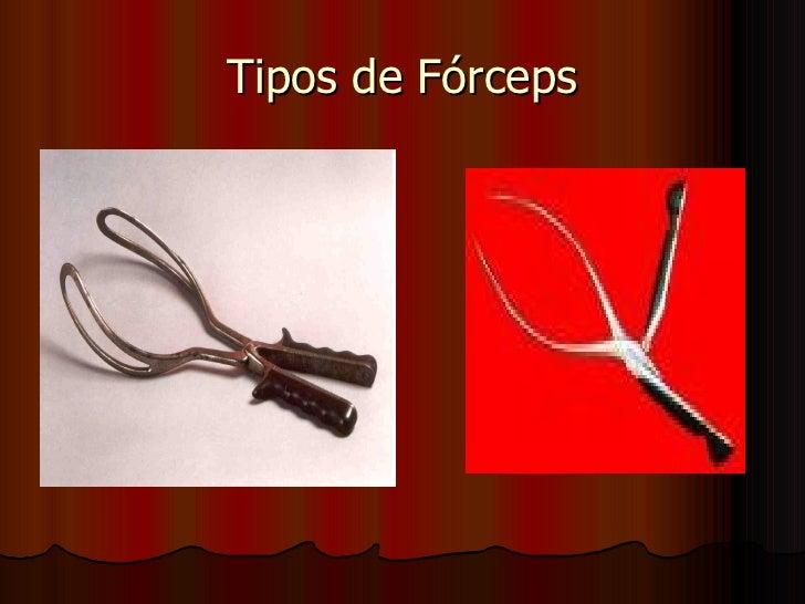 Tipos de Fórceps