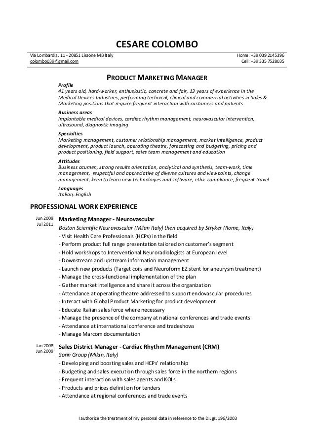Amazing Cardiac Rhythm Management Resume Contemporary - Best Resume ...