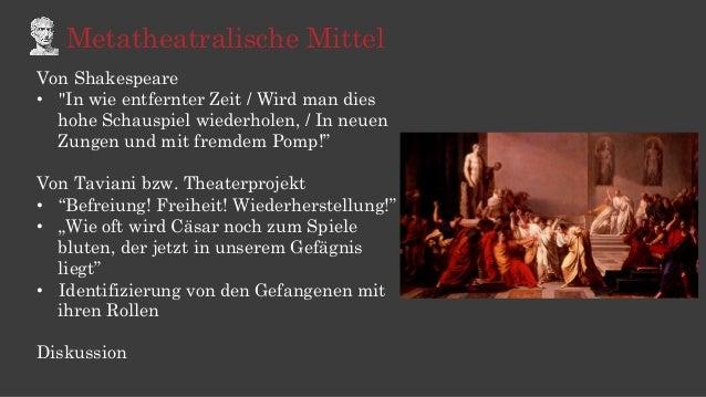 """Metatheatralische Mittel Von Shakespeare • """"In wie entfernter Zeit / Wird man dies hohe Schauspiel wiederholen, / In neue..."""