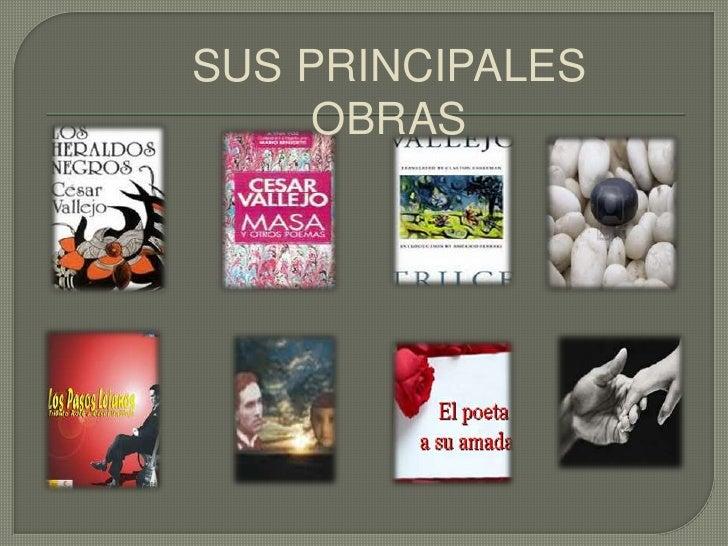 SUS PRINCIPALES OBRAS<br />