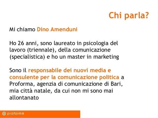 La politica nell'era dei social media: strumenti, strategie, possibilità Slide 2