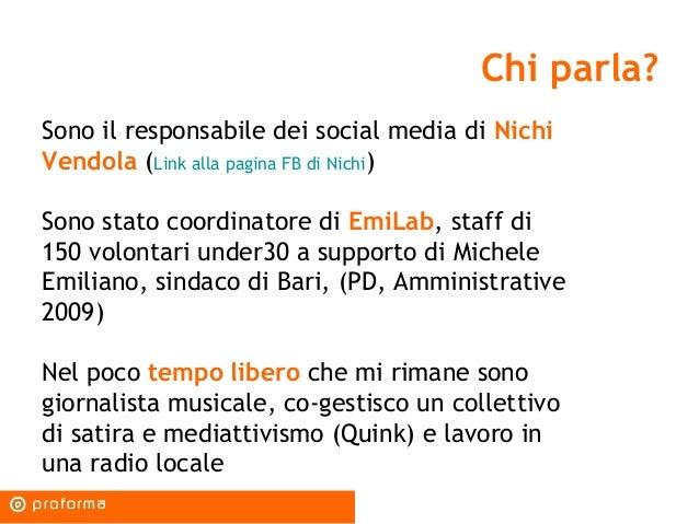 La politica nell'era dei social media: strumenti, strategie, possibilità Slide 3