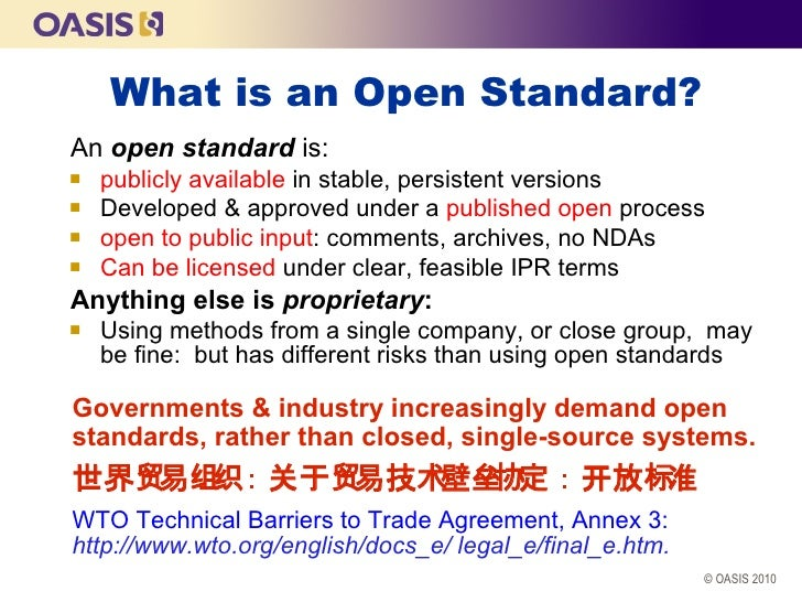 CESI SOA Standards Conference Beijing 2010  Slide 3