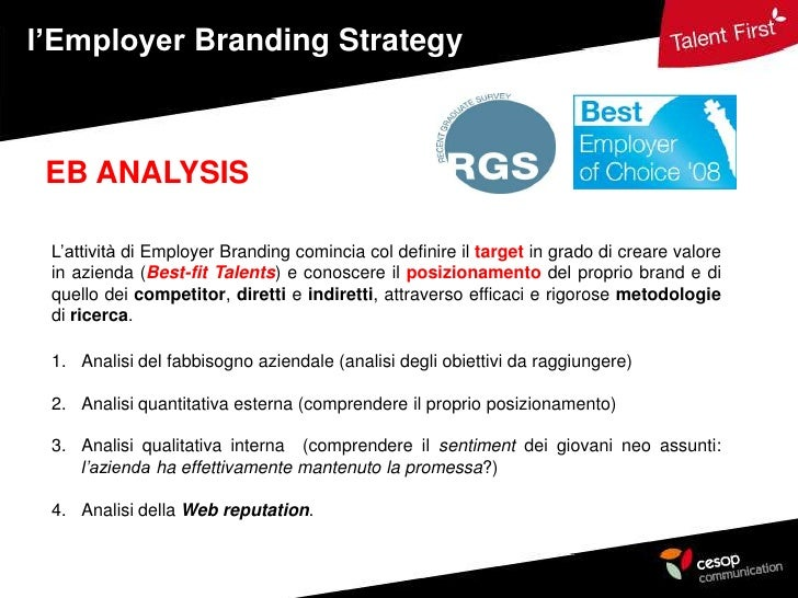 how to develop an employer branding strategy