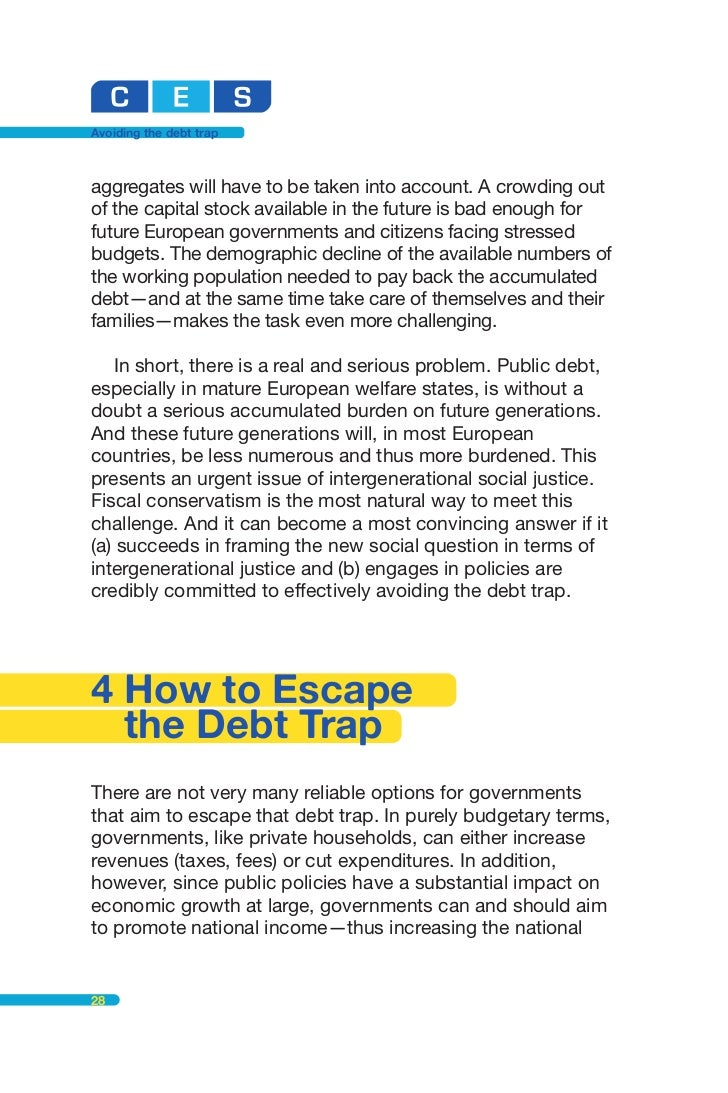 Fiscal policy and government debt - Coursework Example