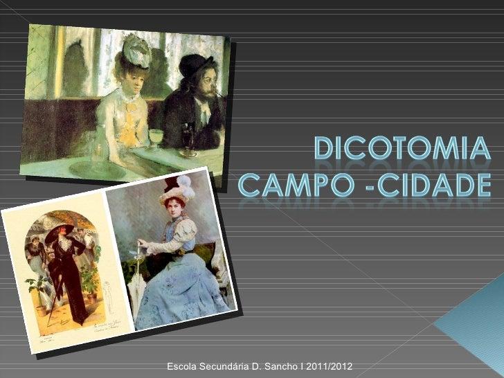 Escola Secundária D. Sancho I 2011/2012
