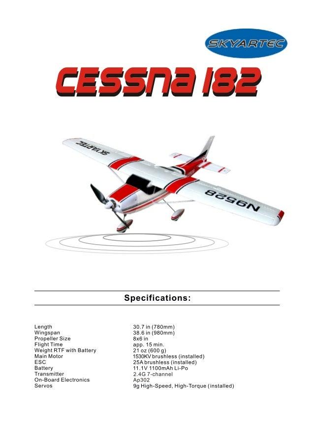 skyartec cessna182 manual 3g3x rh slideshare net 1982 Cessna 182 Brake System Cessna 182 Manual PDF