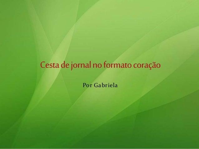 Por Gabriela