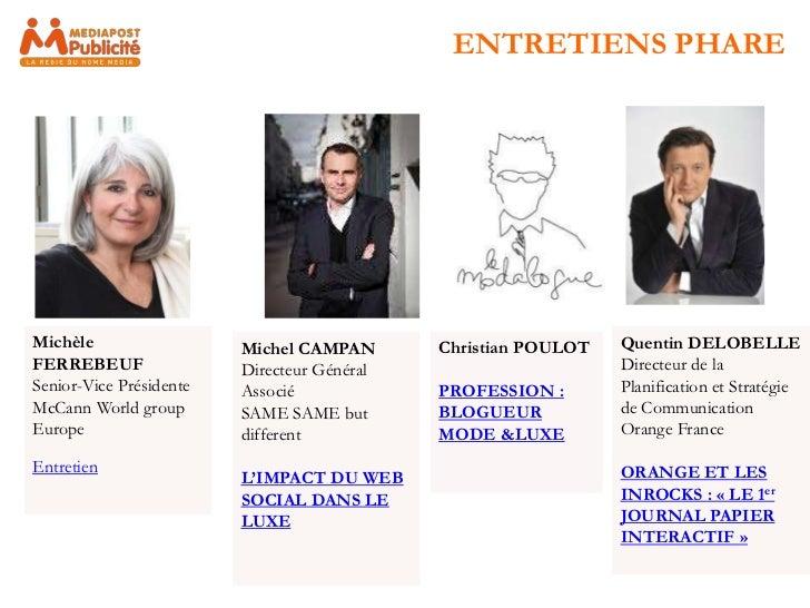 ENTRETIENS PHAREMichèle                  Michel CAMPAN       Christian POULOT   Quentin DELOBELLEFERREBEUF                ...