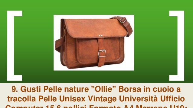 ... 18. 9. Gusti Pelle nature   Ollie   Borsa in cuoio a tracolla Pelle  Unisex Vintage ... 1f8e39359d2