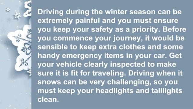 Travel Tips For Winter Travel 2015