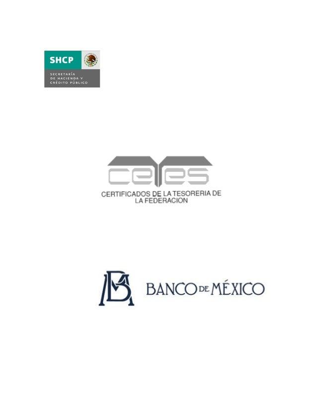1  DESCRIPCIÓN TÉCNICA DE LOS CERTIFICADOS  DE LA TESORERÍA DE LA FEDERACIÓN  1. INTRODUCCIÓN  Los Certificados de la Teso...