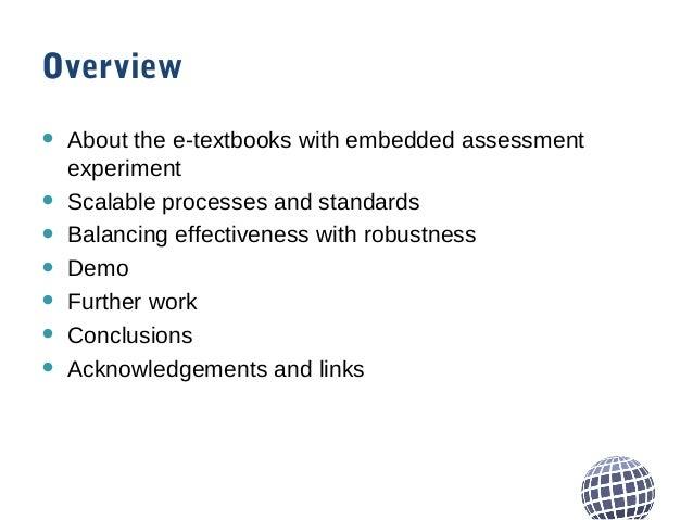 Embedding QTI assessment in EPUB 3 Slide 2