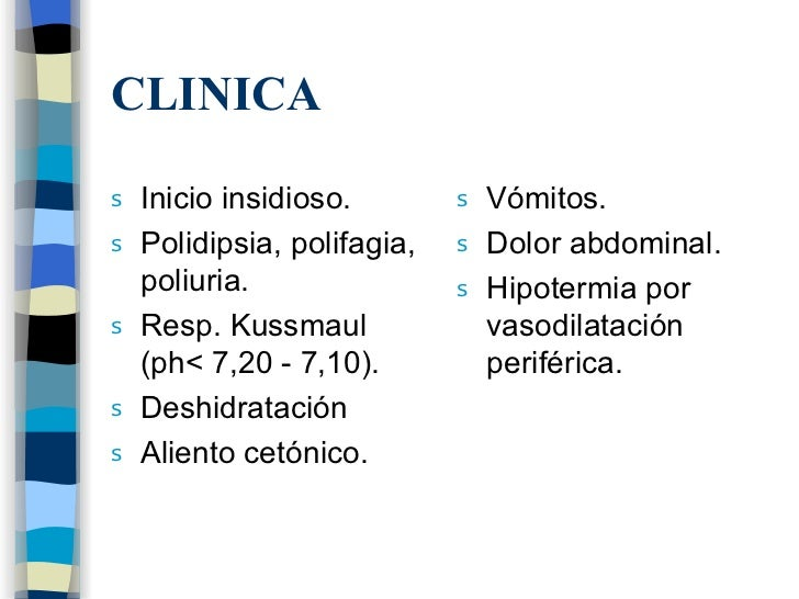 Cetoacidosis