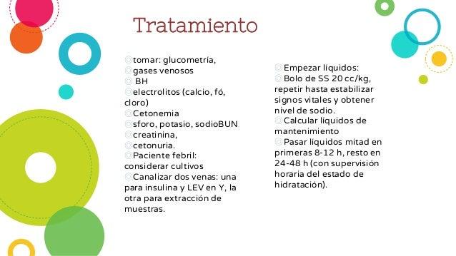 Cetoacidosis diabetica en pediatria