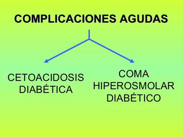 Cetoacidosis y coma hiperosmolar - Marzo 2014
