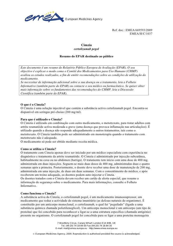 European Medicines Agency                                                                                 Ref. doc.: EMEA/...