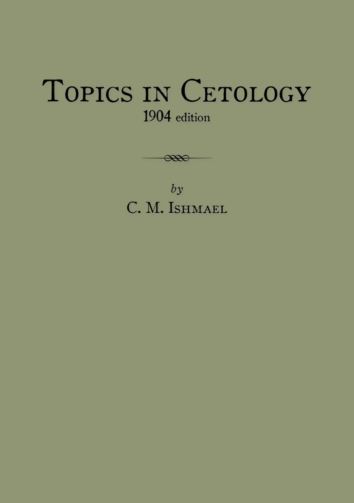 topics in cetology moby dick chapter herman melville topics in cetology 1904 edition r