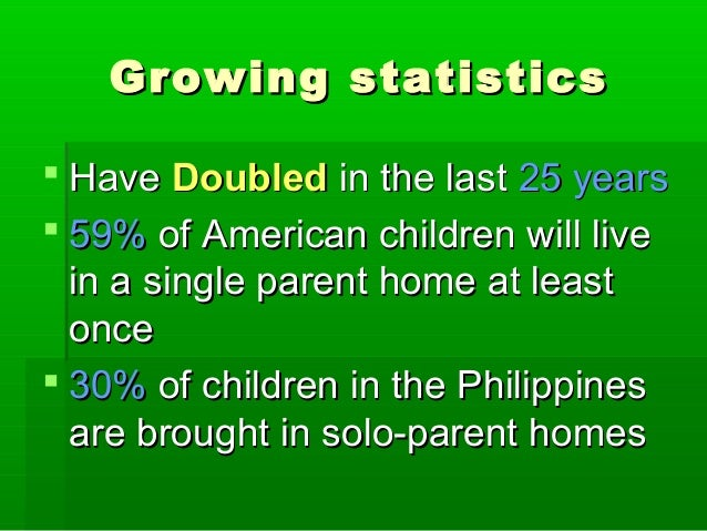 Growing statisticsGrowing statistics  HaveHave DoubledDoubled in the lastin the last 25 years25 years  59%59% of America...