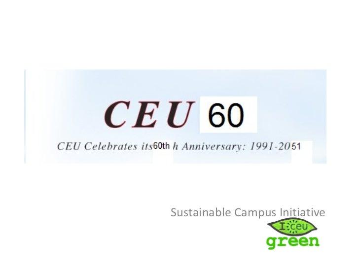 Sustainable Campus Initiative