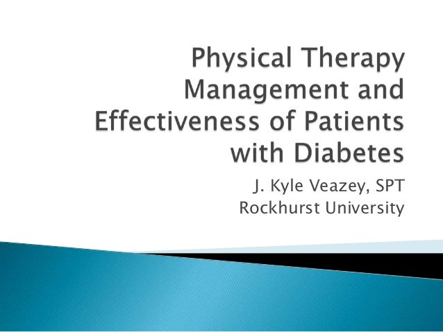 physical therapy management of patients with diabetes