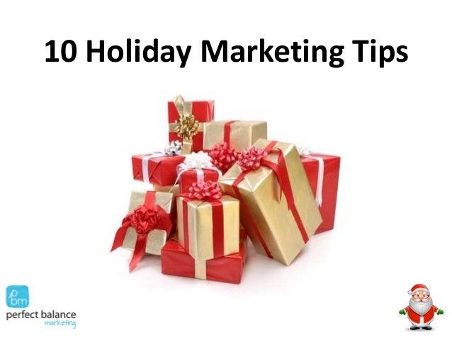 10 Holiday Marketing Tips