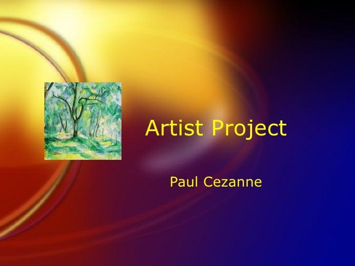 Artist Project Paul Cezanne