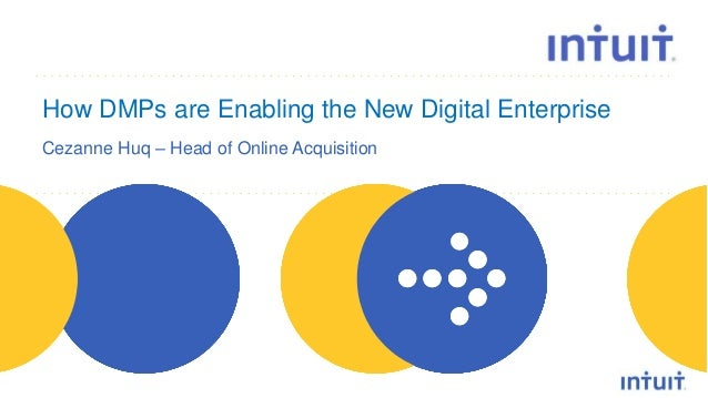 people How DMPs are Enabling the New Digital Enterprise Cezanne Huq – Head of Online Acquisition