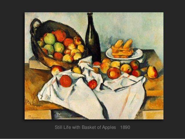 cezanne still life essay A density and dynamism that a more realistic still life could never possess this  painting, one of cézanne's rare signed works, was part of an important.