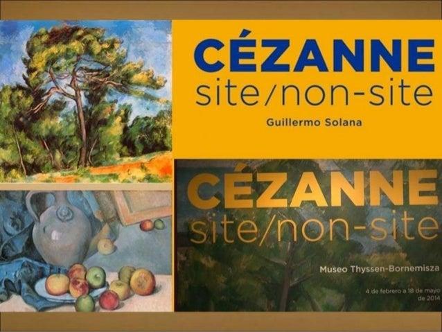 CEZANNE EN EL MUSEO THYSSEN