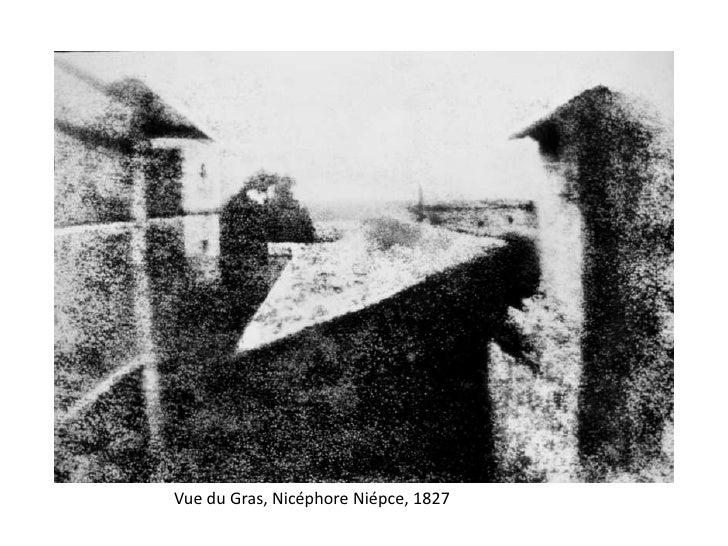 Vue du Gras, Nicéphore Niépce, 1827
