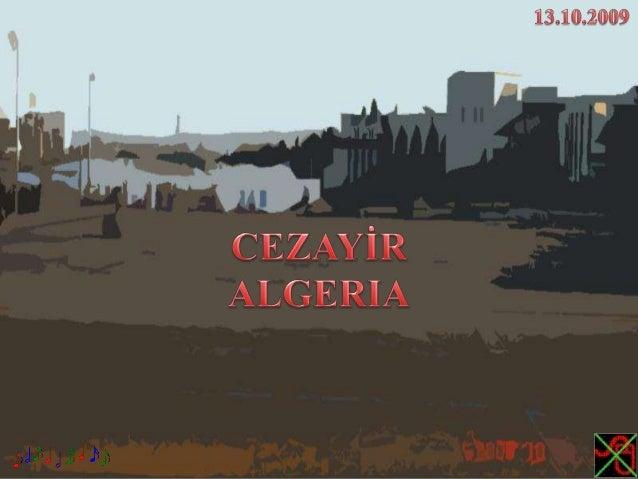 CEZAYİR,ALGERIA