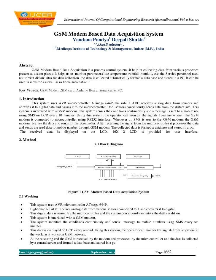 International Journal Of Computational Engineering Research (ijceronline.com) Vol. 2 Issue.5                         GSM M...