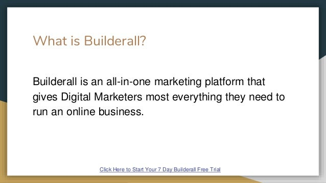 Builderall Free Trial Slide 2