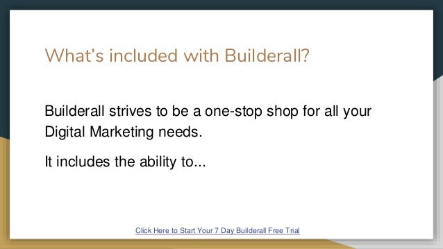 Builderall Free Trial Slide 3
