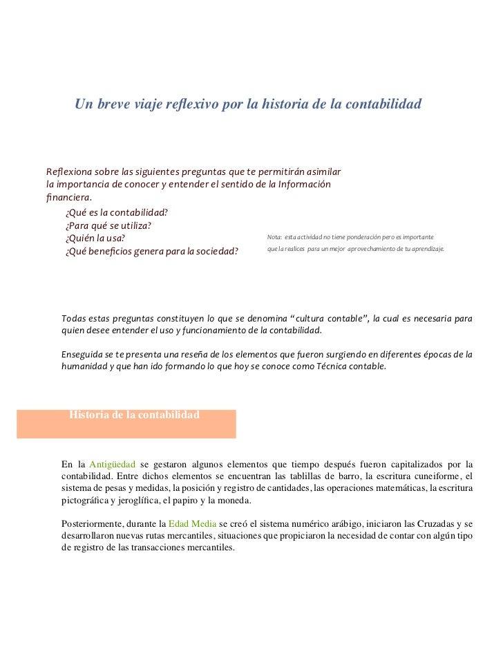 Vistoso Mejor Resumen De Contabilidad Adorno - Colección De ...