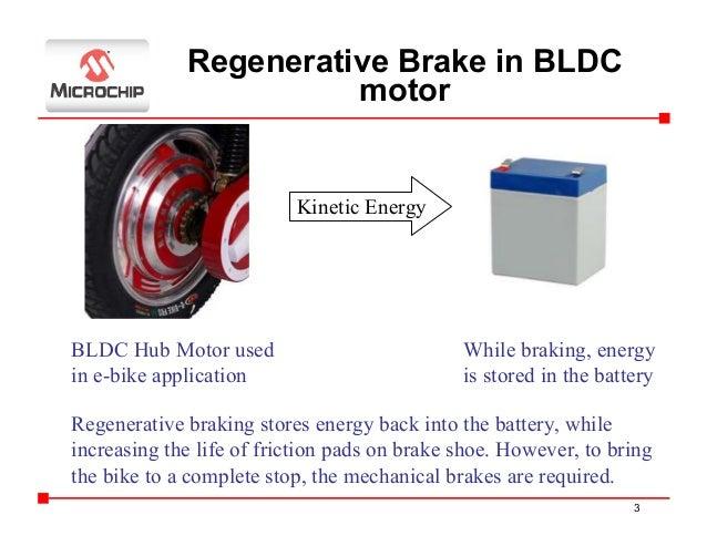 Regenerative braking of bldc motors for Electric motor dynamic braking
