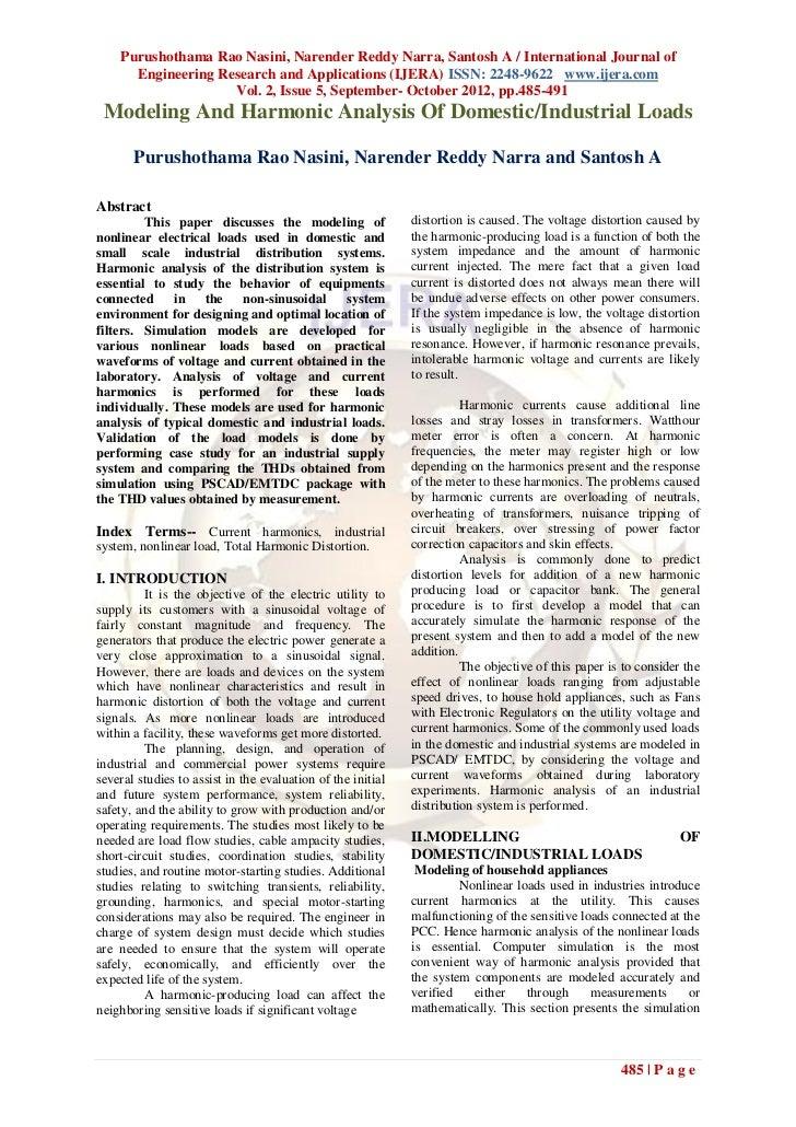 Purushothama Rao Nasini, Narender Reddy Narra, Santosh A / International Journal of      Engineering Research and Applicat...