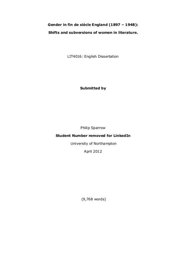 dissertation 18eme siecle