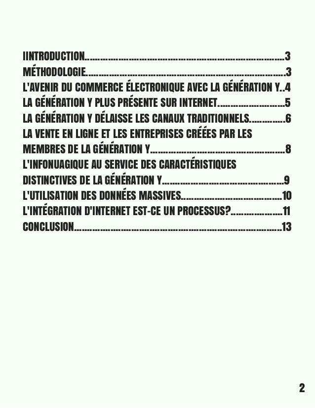 rapport synthèse de l'intégration de la révolution digitale par les entrepreneurs québécois de la génération Y Slide 2