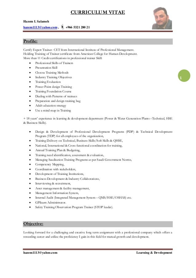 Hazem -Resume