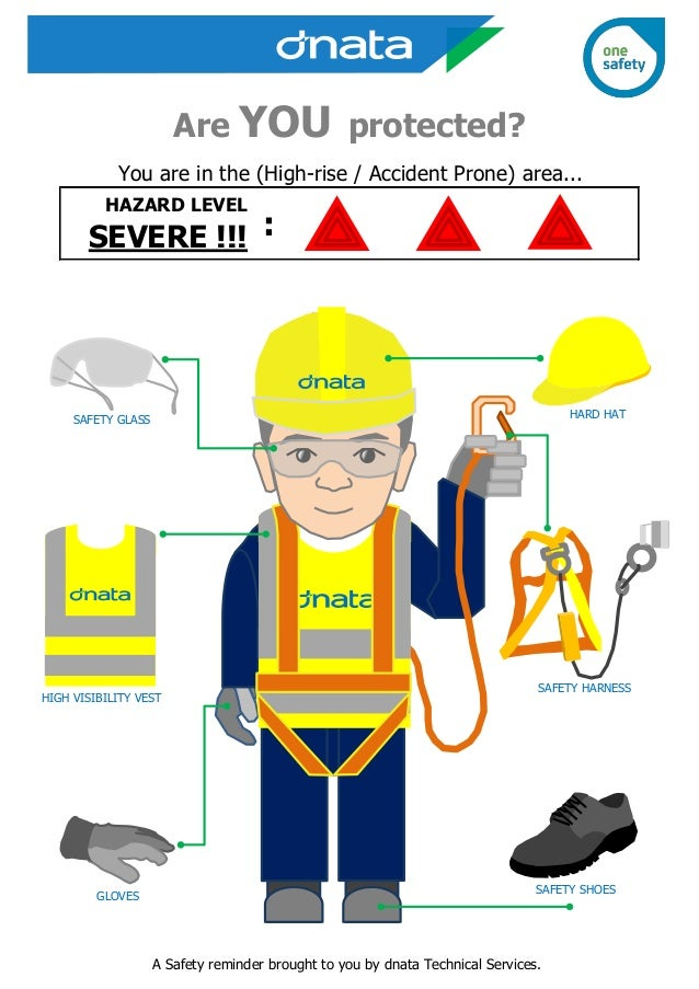 safety harness cartoons