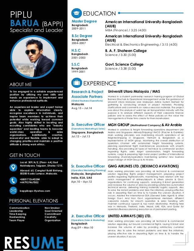 piplu barua bappi modern resume system
