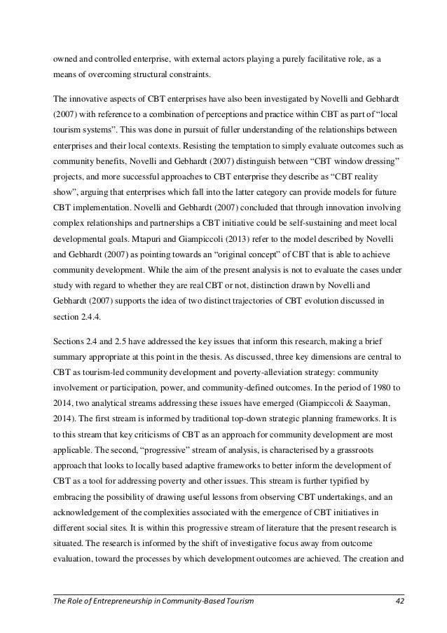 Entrepreneurship thesis phd